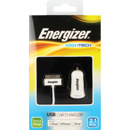 CHARGEUR ENERGIZER HIGHTECH VERS USB IPOD/IPHONE/IPAD