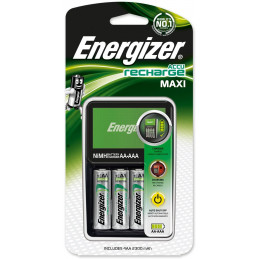 ENERGIZER Maxi Charger, AA, AAA, 4 pièce(s), Piles fournies