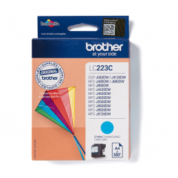 Brother LC223C cartouche d'encre cyan